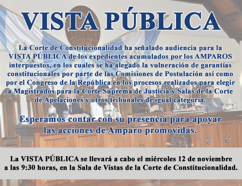 invitacion audiencia CC